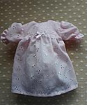 girls baby bereavement dresses PRUDENT PETALS pink gown 1lb in weight