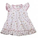 3 piece Premature baby dress set Rosie Posie 3-5LB