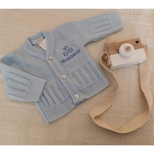 premature baby cardigans blue in 3-5lb 5-8lb PRECIOUS SON