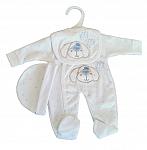 premature babies clothes  1-2lb boys full set BOW WOW