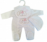 premature babies clothes girls complete outfit 1-2lb BOW WOW