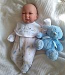 early baby clothes for your baby grandson gift BEST BOTTLE 2-3lb