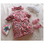 tiny baby dresses TOOT SWEET in 3-5lb