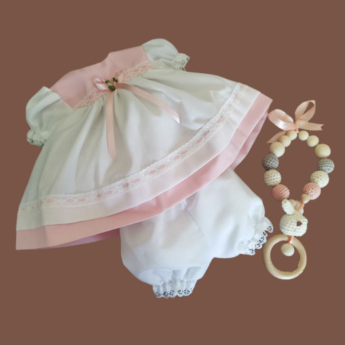 premature baby dresses 2-3lb 2 colours LITTLE PRINCESS