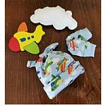 premature baby hats 3-5lb size SOARING ABOVE