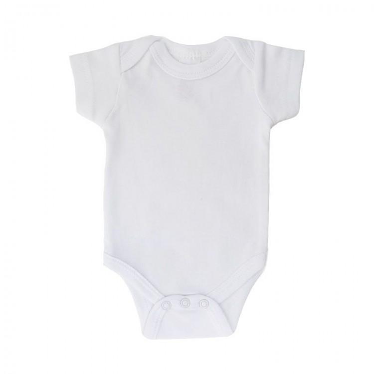 Pack of 2 plain white vest size 5-8lb