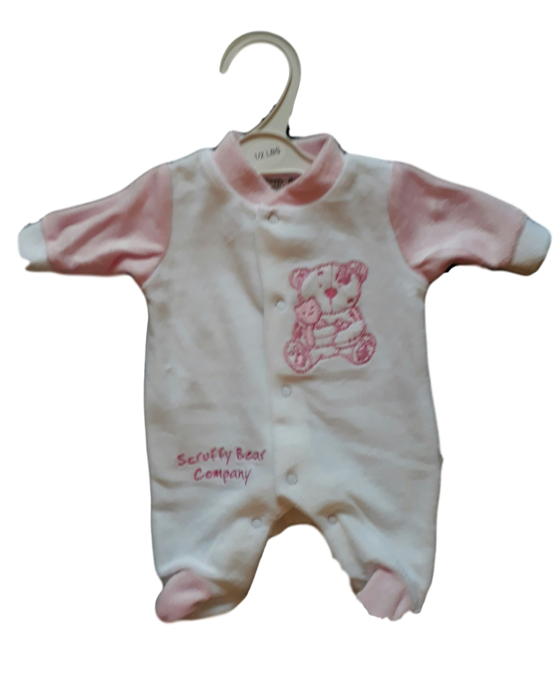 Baby Girls Premature Baby sleepsuit early baby grow Pink COSYPAWS all tiny sizes