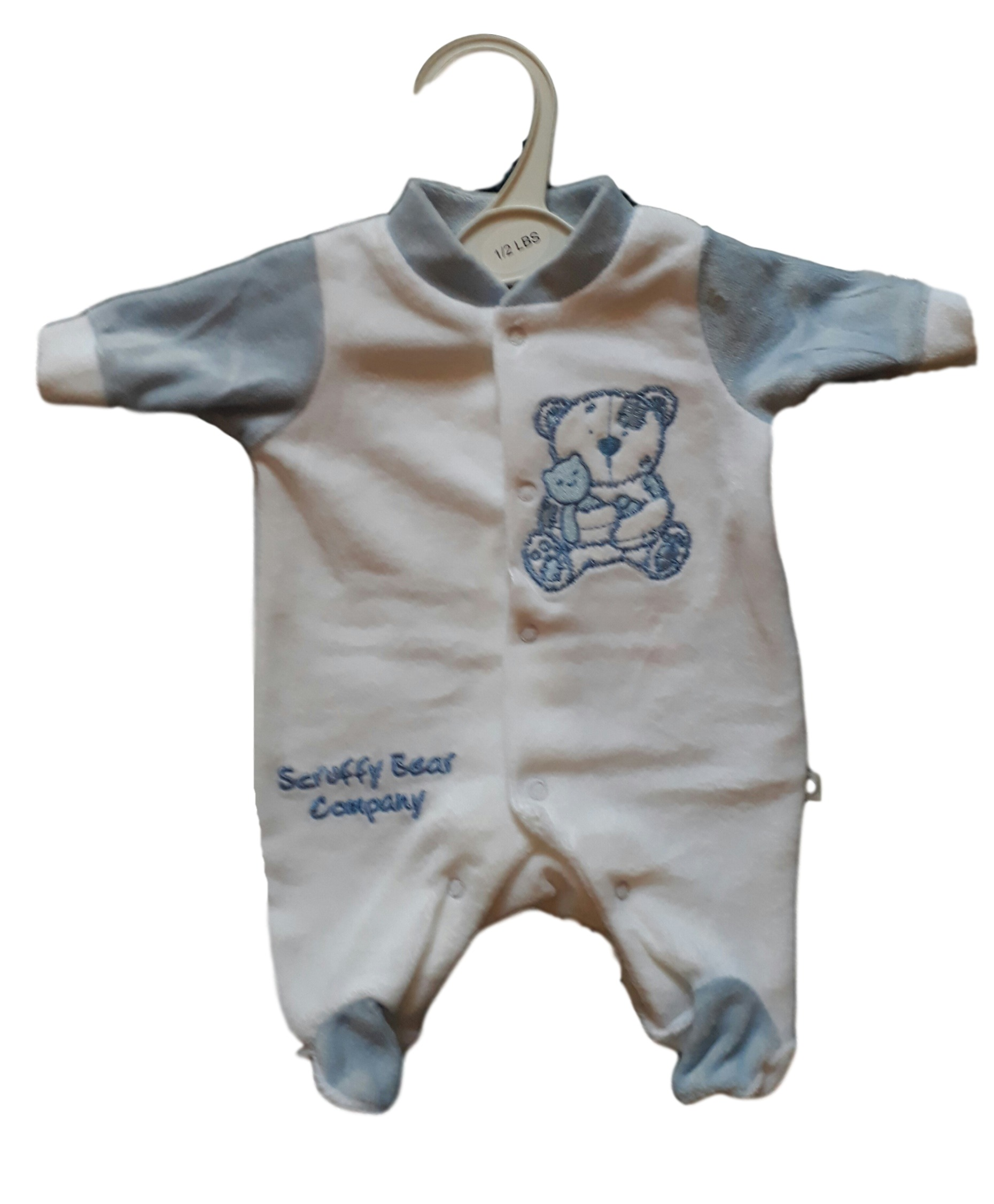 premature babies clothes BOYS sleepwear baby grow COSYPAWS ALL SIZES