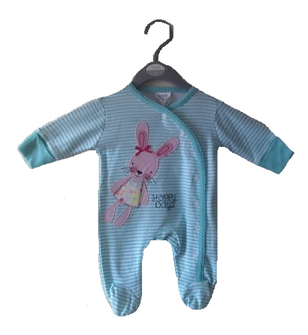 sweetest premature baby clothes onesie FLUFFY BUNNY size 3-5lb