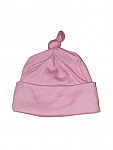 premature baby hat knot in 3-5lb by Nanny Nicu TM BERRY PINK