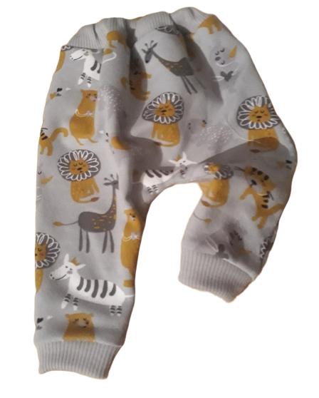 tiny baby clothes 5-8lb pair pants AMAZON ANIMALS