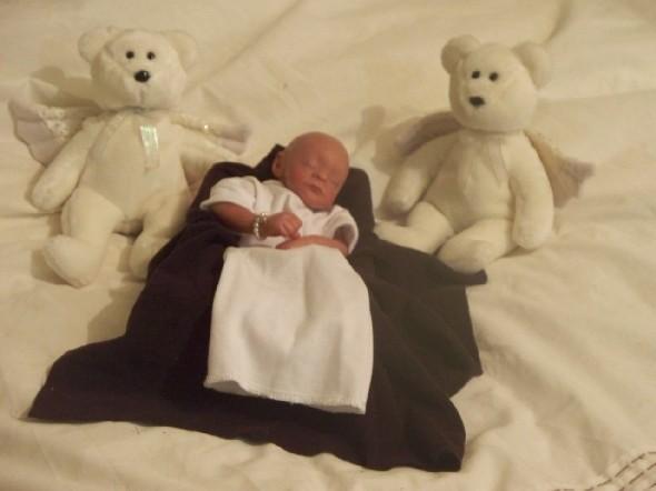 tiny shroud baby bereavement clothes Something Precious Baby Burial Shroud Multi Faith size 1-3lb and upwards+