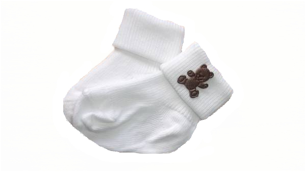 prem baby socks COCOPOP TED MOTIF 0000 3-5LB