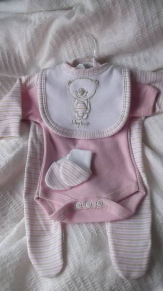 premature baby clothes gift  FIRST GRANDDAUGHTER early baby Pink  3-5lb