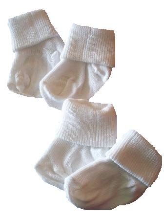 unisex premature baby clothes 5-8lb Snuggies PREMATURE BABY SOCKS  SIZE 000 WHITE socks