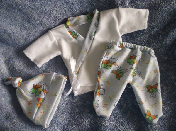 Stillbirth tiny stillborn babies clothes baby bereavement CAT n MOUSE PLAYTIME Born 20-22 WEEKS