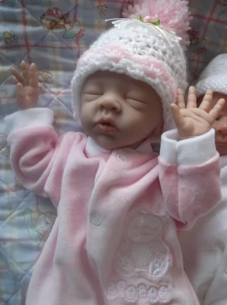 prem Newborn babies girl BOO BOO Velour BABY GROW early baby 5-8lb