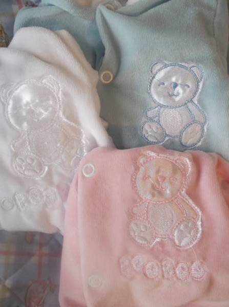 prem Newborn babies girl BOO BOO Velour BABY GROW early baby 5-8lb