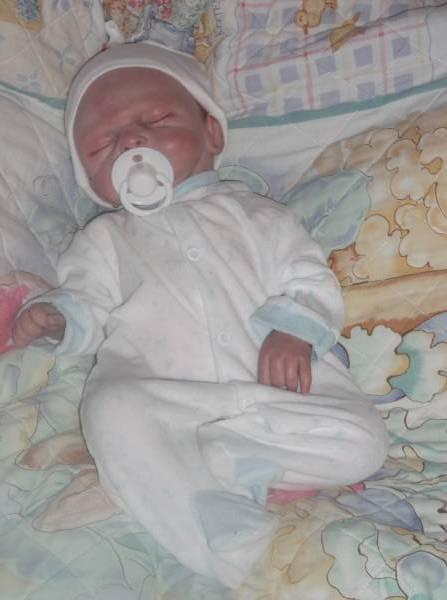 boys premature baby clothes sleepsuit TEDDY LOVE tinybaby 5-8lb