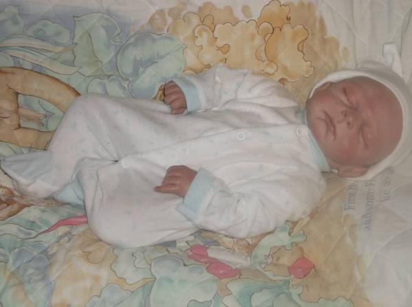 boys premature baby clothes sleepsuit TEDDY LOVE preemie 3-5lb