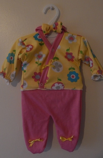 Nanny Nicu TRENDY BABE Tiny premature baby clothing 3-5lb