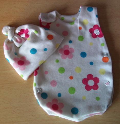 preterm premature babies clothes Neonatal vest hat SUNSET GARDEN 2-3lb