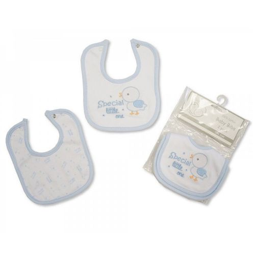 PACK OF 2 PREMATURE BABY BOYS Tiny dee tie bibs