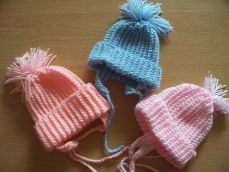 Gorgeous Snuggly  warm Premature baby hats ALL COLS ALL SIZES