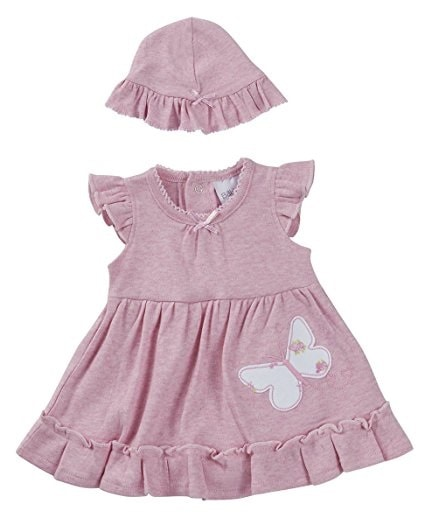 Premature baby dress miss sweetie pie 3-5lb or 5-8lb pink