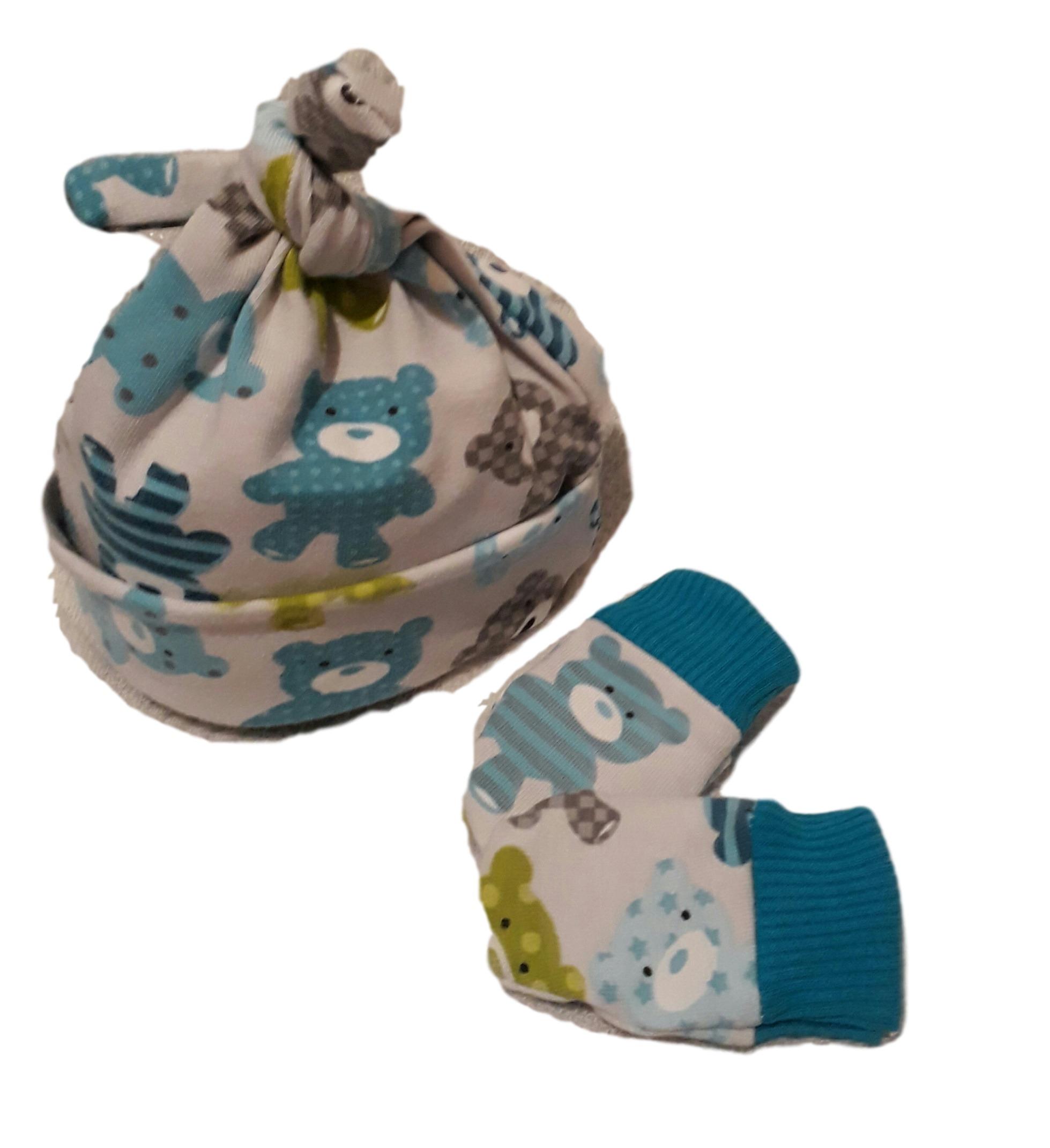 1-2lb tiny babies clothes neonatal hat mittens premature sizesBlue teddies galore