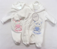 Boys premature baby clothes Coat Snowsuit style CUDDLES BEAR  tiny baby sizes