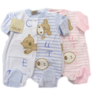 Girls sleepsuit babygrows MY CUTE FRIENDS all sizes
