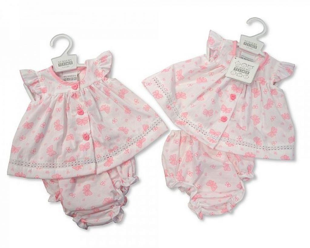 tiny babies dress BEAUTIFUL BOWS  3-5lb or 5-8lb