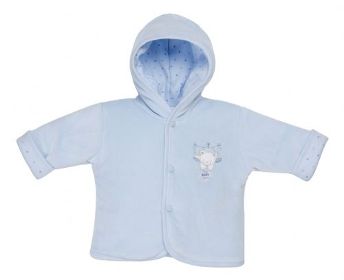 premature baby coat jacket blue boys SWEET DREAM BEAR 5-8lb