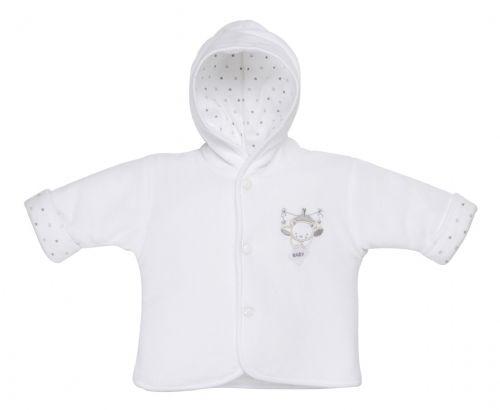 Premature baby coat WHITE jacket sweet dream teddy 3-5lb