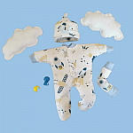 tiny baby clothing bereavement boys ZOOM TO THE MOON micro sizes