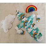 tiny baby clothing bereavement outfit born 18 20 weeks COSY CLOUDS
