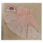 tiny baby dress sizes 3-5lb or 5-8lb TRUE LOVE