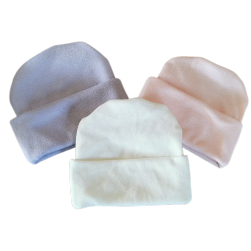baby hats premature pack of 3 in cotton size 3-5lb