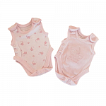early babies vests pack 2 pink incubator up to 3.3lb or 1.5kg LITTLE PRECIOUS