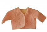 prem cardigan NEAT KNITS Baby pink  tiny babies size 5-8lb