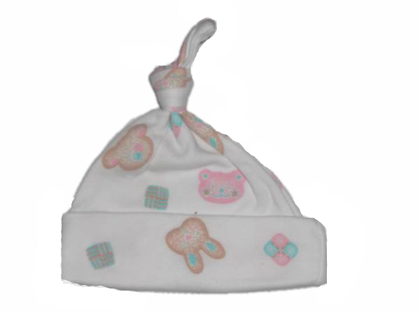 premature baby clothes GIRLS  first hat little bunny 3-5lb
