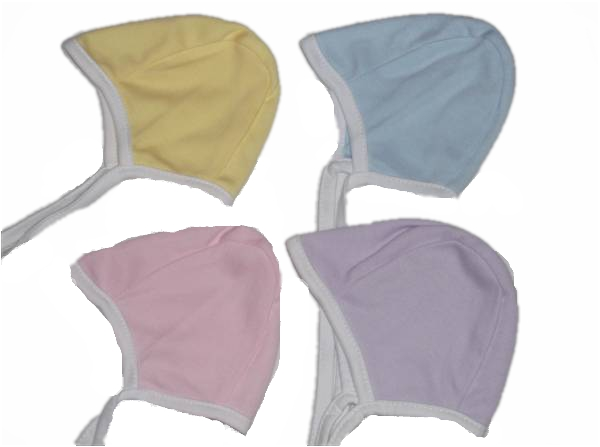 Premature baby hat  COSY cotton Lemon  size 5-8lb