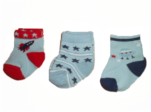 premature baby socks MOON AND BACK RANGE size 0000 3-6LB