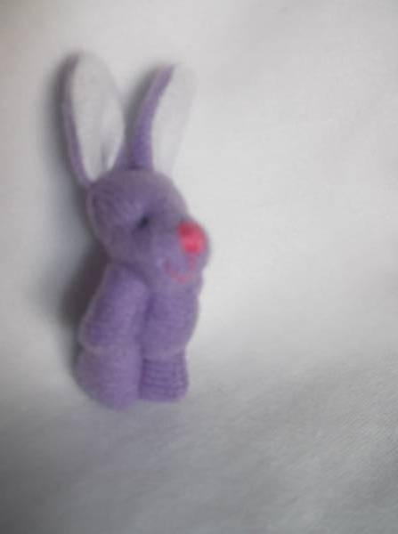 baby stillborn memory box TINY Bunny Rabbit BELLAROO's Little Sis LILAC