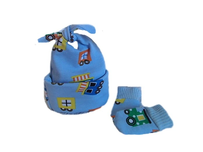 premature labour cute Babies hat and mittens CHUGALONG 1-2lb
