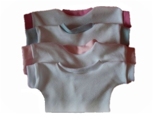 premature baby clothing pack 2 tea shirts ALL WHITE nanny nicu