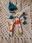 smallest stillbirth Boys baby bereavement clothes DINKY DINOS Born at 20 weeks