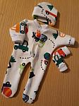 boys clothes baby bereavement outfit born at 24 weeks DIGGER DIG