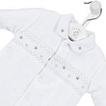 3lb premature baby clothing Nanas gift smocked sleepsuit size 3-5lb
